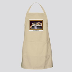 Dogs Playing Flipcup BBQ Apron