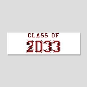 Class of 2033 Car Magnet 10 x 3