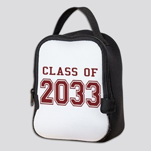 Class of 2033 Neoprene Lunch Bag
