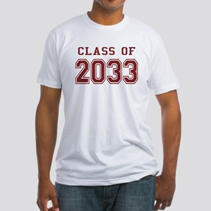 Class of 2033 Fitted T-Shirt