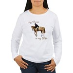 My Horse My Life Women's Long Sleeve T-Shirt