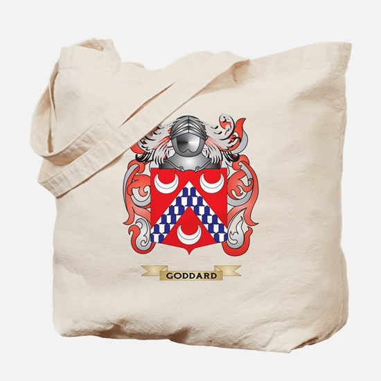 Goddard Coat of Arms (Family Crest) Tote Bag
