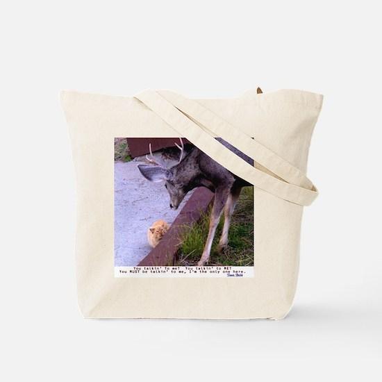 Tote Bag  Deer corn / Deer Cat