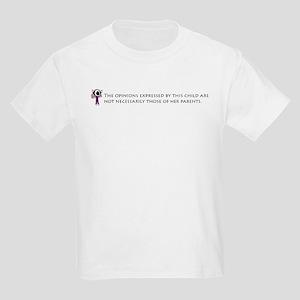 Parental Disclaimer (daughter Kids T-Shirt