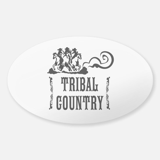 Tribal Country Sticker (Oval)