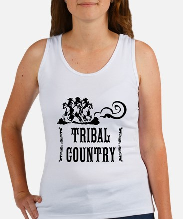 Tribal Country Women's Tank Top