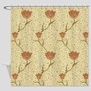 Morris Garden Tulip Shower Curtain