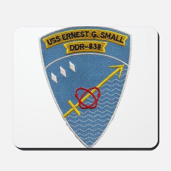 USS ERNEST G. SMALL Mousepad