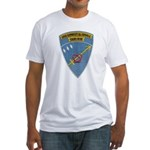 USS ERNEST G. SMALL Fitted T-Shirt