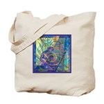 Pointillist Mayahuel Tote Bag