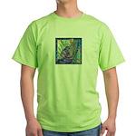 Pointillist Mayahuel Green T-Shirt