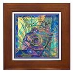 Pointillist Mayahuel Framed Tile