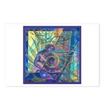 Pointillist Mayahuel Postcards (Package of 8)