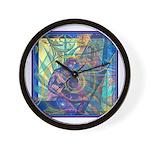 Pointillist Mayahuel Wall Clock