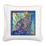 Pointillist Mayahuel Square Canvas Pillow
