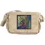 Pointillist Mayahuel Messenger Bag