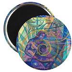 Pointillist Mayahuel Magnet