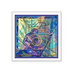 Pointillist Mayahuel Square Sticker 3