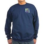 Pointillist Mayahuel Sweatshirt (dark)