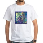 Pointillist Mayahuel White T-Shirt