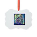 Pointillist Mayahuel Picture Ornament
