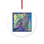 Pointillist Mayahuel Ornament (Round)
