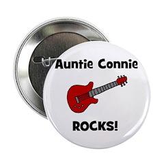 Auntie (Aunt) Connie Rocks Button