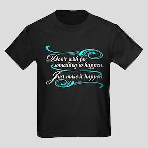 Make It Happen Kids Dark T-Shirt