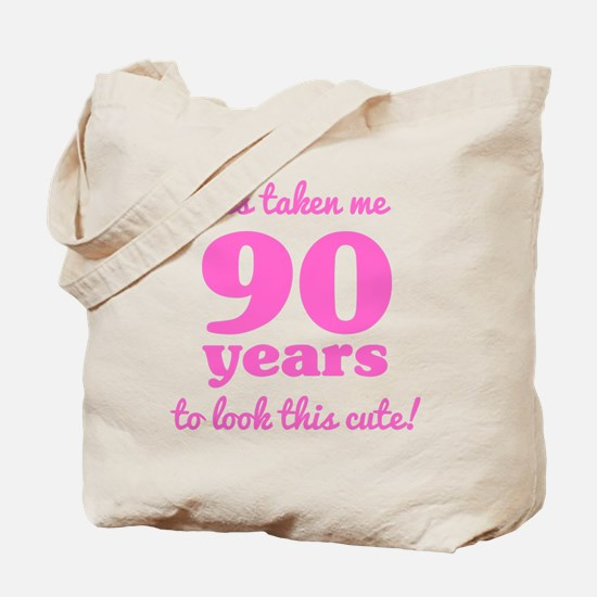 Cool 90th birthday women Tote Bag