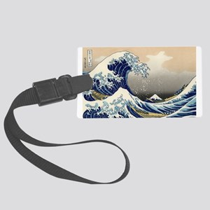 The Wave by Hokusai Luggage Tag