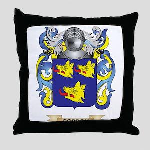Gordon Coat of Arms (Family Crest) Throw Pillow