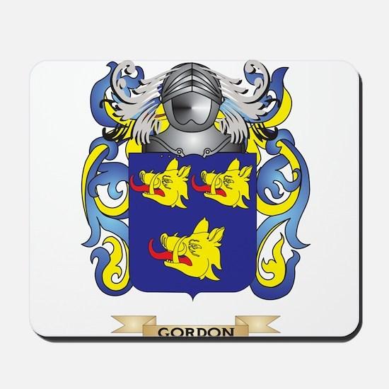 Gordon Coat of Arms (Family Crest) Mousepad