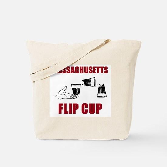 Massachusettes Flip Cup Tote Bag