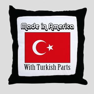 Turkish Parts Throw Pillow