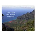 "Desmond ""On-Location"" Wall Calendar"