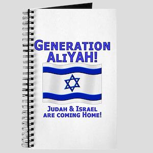 Generation AliYah! Journal