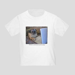 Online Pug Toddler T-Shirt