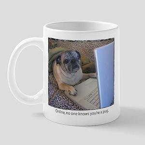 Online Pug Mug