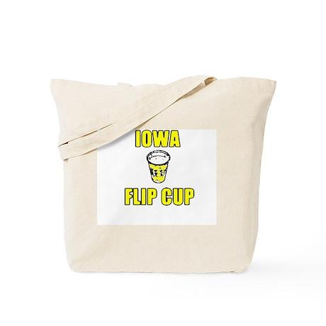 Iowa Flip Cup Tote Bag