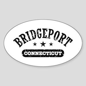 Bridgeport Connecticut Sticker (Oval)