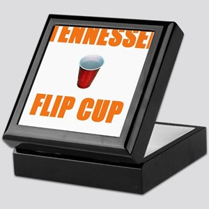 Tennessee Flip Cup Keepsake Box