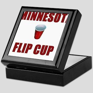 Minnesota Flip Cup Keepsake Box