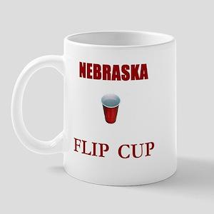 Nebraska Flip Cup Mug