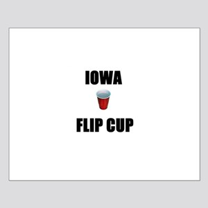 Iowa Flip Cup Small Poster