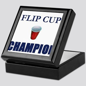 Flip Cup Champion Keepsake Box