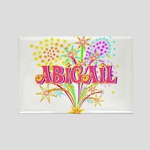 Sparkle Celebration Abigail Rectangle Magnet
