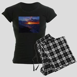 Sunrise Over The Atlantic Ocean Pajamas