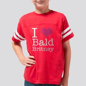 bald-britney2 Youth Football Shirt