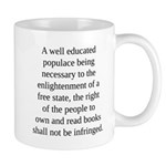 Right to Books Large Mug