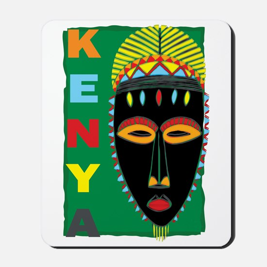 Kenya Mask Mousepad